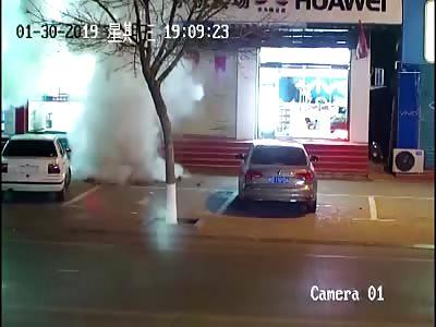(Repoϟϟt) CHINA-BOY LITTLE TRIGGERS HUGE GAS EXPLOSION