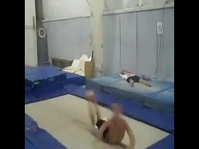Epic Trampoline Fail