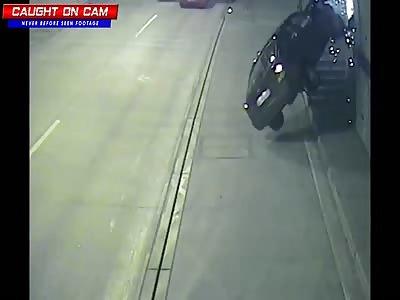 Slovak Tunnel Car Crashes