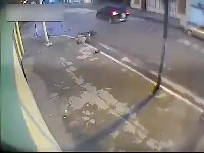 Biker VS SUV