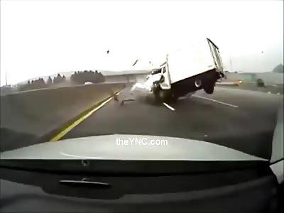 Spectacular accident