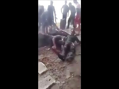 Bombing In Baghdad - Death & Destruction