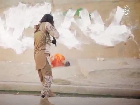 NEW ISIS Shotgun Execution Three Spies