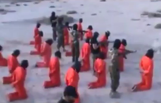 Libya: Kneeling Prisoners Benig Executed in Turns For Different Crimes