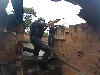 War zone: Rio.