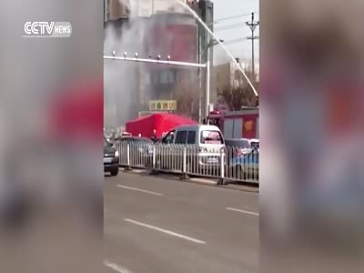 SUICIDAL MAN SHOT DOWN WITH WATER GUN