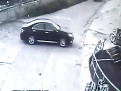 WOMAN DRIVING KILLED THREE, INJURED ONE