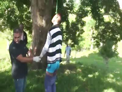 RIGOR MORTIS: MAN FOUND HANGED