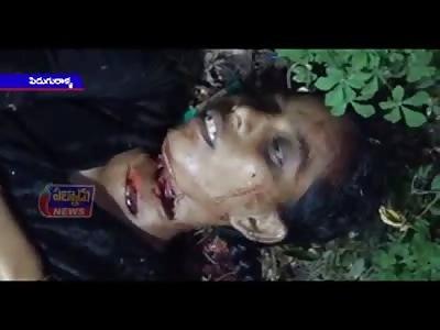 WOMAN KILLED BY HUSBAND