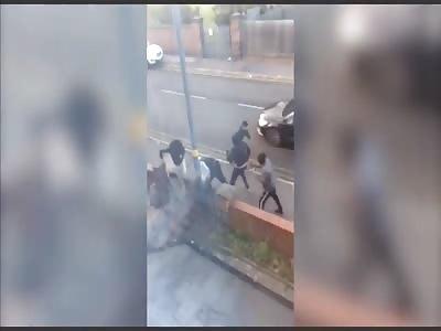 Birmingham Machete Thugs Attack Victim in Horrifying Daylight Attack