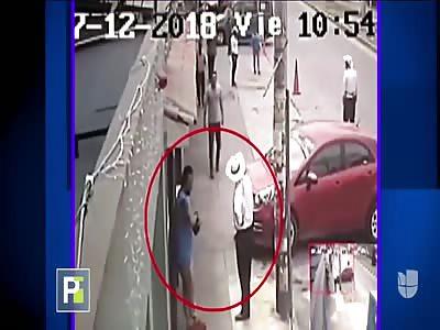MAN BEING SHOT DEAD DURING ARGUMENT