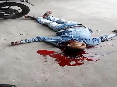 BLOOD ON ASPHALT