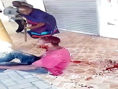 THE UNGA BUNGA FILES: MAN IS BRUTALLY BEATEN