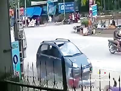 SHOCKING RUN OVER IN VIETNAM