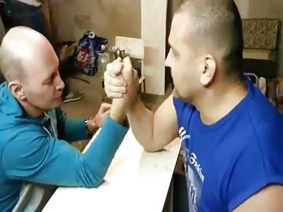 RUSSIAN BROKEN ARM
