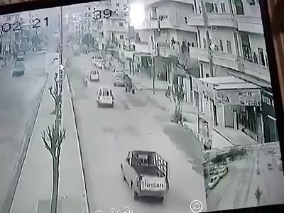 CAR BOMB EXPLOSION IN ALEPPO