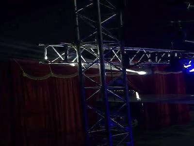 (Repost) Bomber Man circus fail