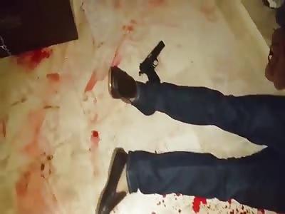 SUICIDE SHOT IN DEAD.