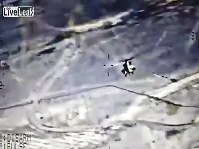 Iraqi Mi-35 Destroy ISIS Tragets In Ramadi and Samarra (part1)