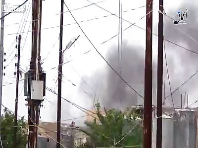 Shia Iraqi warplane targeting civilians brought down by Islamic state.