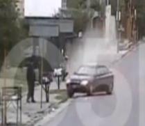 Pedestrian Brutally Run Over by Car