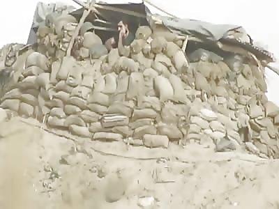 Peshmerga Fighter Survives ISIS Sniper Round To Bicep