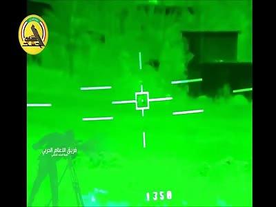 ISIS Rats Massacred By Tank Main Gun Round
