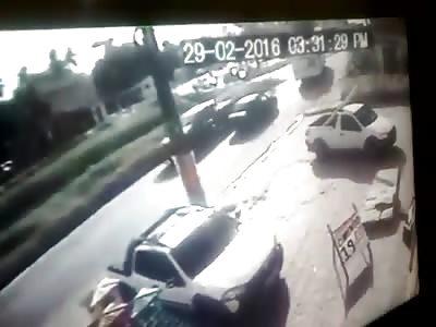 Train vs bus crash