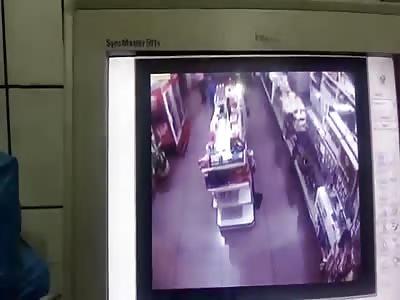 Shot dead in assault