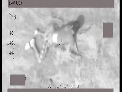 Color Chopper Gun Cam Footage Of ISIS Destruction