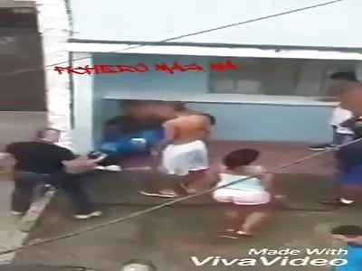 Thief beaten has seizures