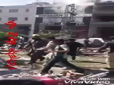 Many killed in terrorist attack