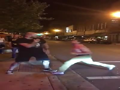 Fast fight a single blow