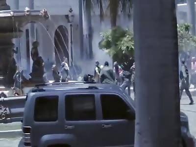 Venezuelan lawmakers beaten in latest violent flare-up caught on camera