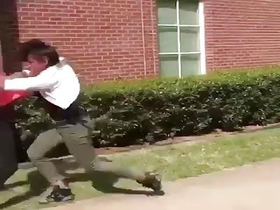 Black women fight