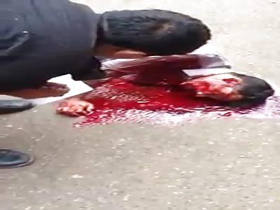 What is pakistani stupid police doingvery bad accident