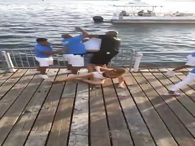 Cabana Pool Bar Fight, Toronto, Canada