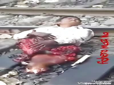 Man screams in pain train amputated him