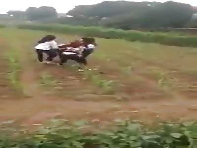 Woman hit by women
