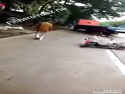 ACCIDENT:  truck