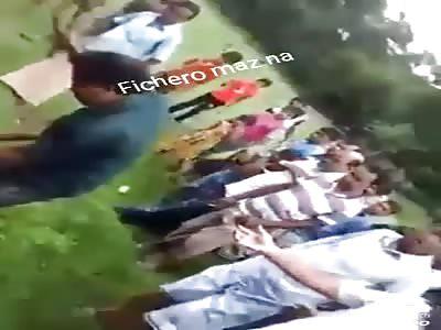 Pedophile struck by neighbors