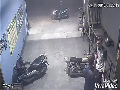 MAN RECEIVES MACHETAZO IN HIS STOMACH