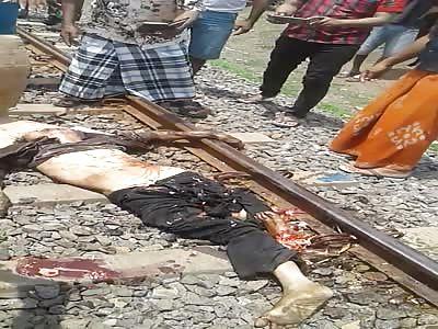 DEAD MAN IN TRAIN ROADS