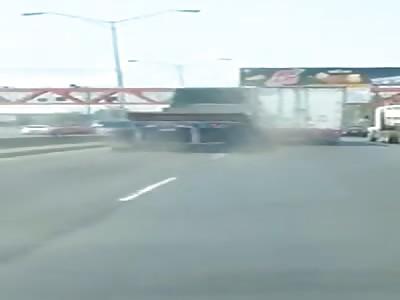 BRIDGE COLLAPSE TRUCK