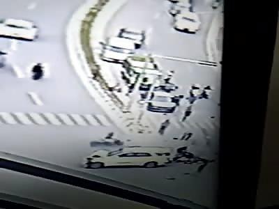 CCTV ACCIDENT