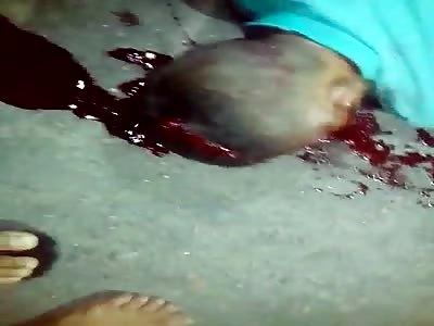 MURDERED MAN