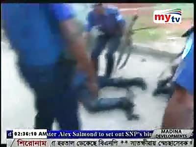 POLICÍA  FOLDED TO SHOTS