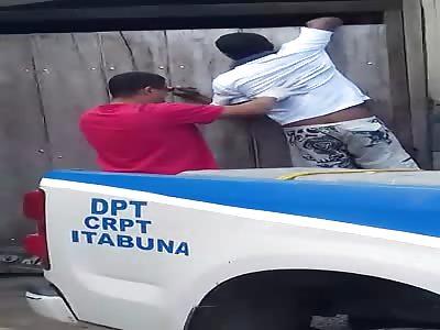 MAN IS FOUND DEAD HANGING FROM THE DOOR