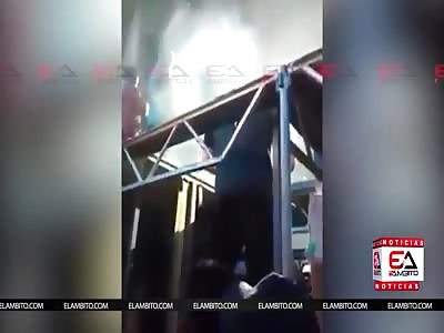 ACCIDENT JERRY RIVERA JAJAJA