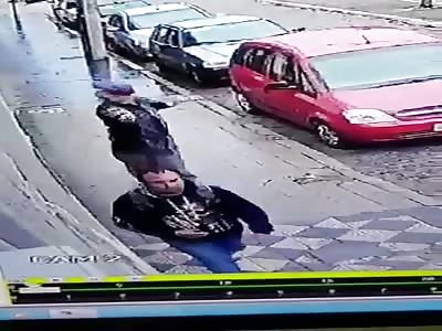 Gang Member, Gets Shot Dead by Hitman